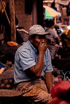 Man, Market, Business, Economy, Trade, Work, Client