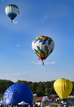Hot Air Balloons, Balloons, Sky, Flying, Floating