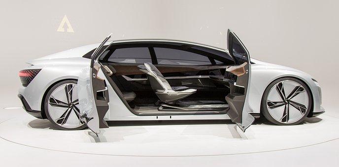 Audi, Car, Future, Auto, German, Speed, Concept, Aicon