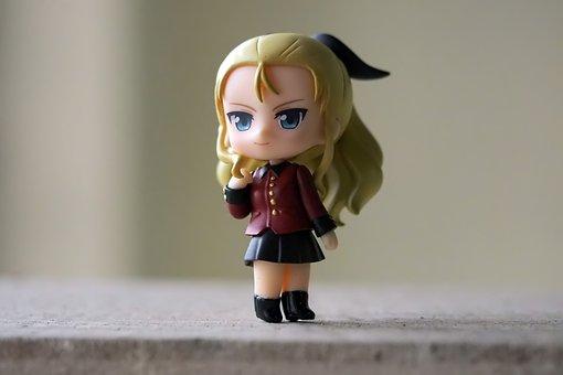 Girls, And, Panzer, Japanese, Anime, Cartoon