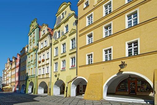 Poland, Silesia, Jelenia Góra, Historic Center