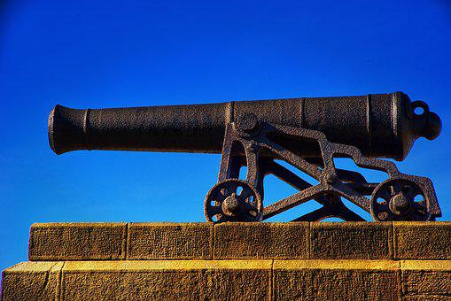 Cannon, Black, Battle, History, Military, Ancient