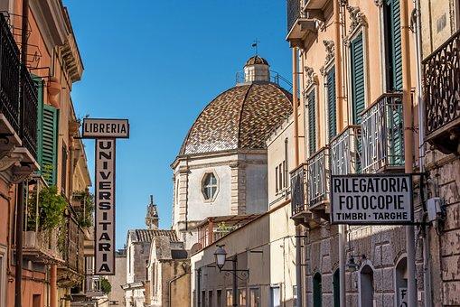 Cagliari, Sardinia, Italy, City, Historically, Facade