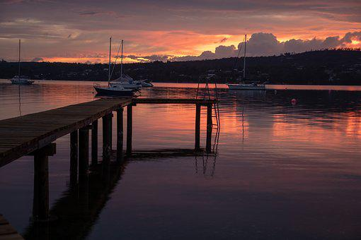 Margate, Australia, Tasmania, North West Bay, Coastal