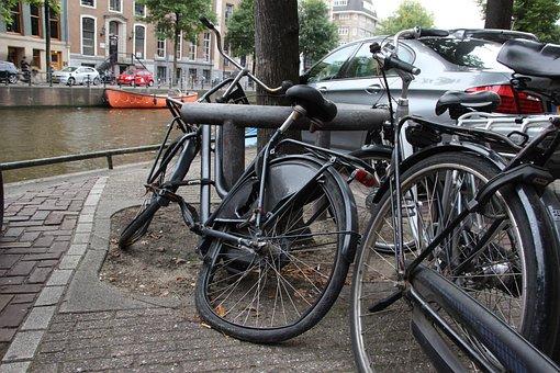 Bike, Defect, Broken, Wheel, Old, Abandoned, Cycling
