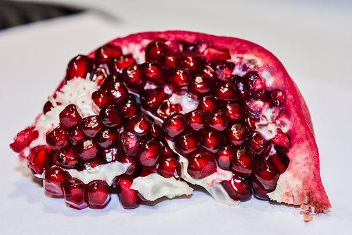 Pomegranate, Fruit, Product, Produce, Fresh, Food, Red