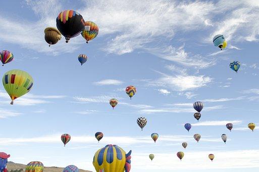 Reno, Nevada, Balloon, Races, Hot, Air, Great, 2018