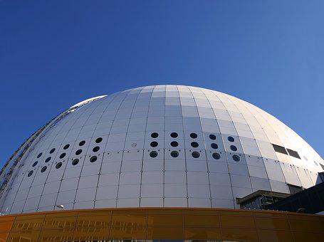 Dome, Show Room, Skyview, Attraction, Rail, Structure