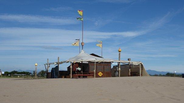 Beach, Sand, Beach Club, Sea, Relax, Sun