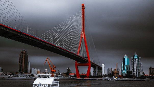 Yangpu Bridge, Shanghai, China