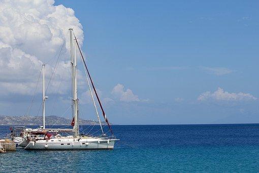 Sailing Vessel, Ship, Sailing Boat, Port, Lake, Sea