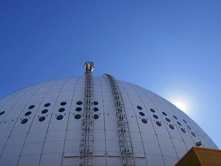 Dome, Ball, Ascension, Attraction, Skyview, Rail
