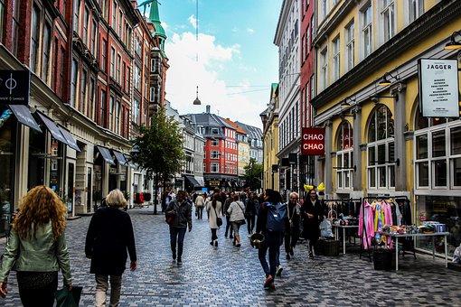 Passage, Pedestrian Zone, Human, Society, Consumption