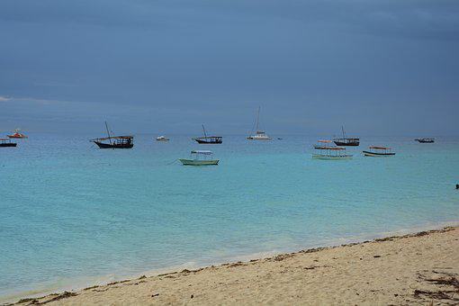 Zanzibar, Tanzania, Africa, Beach, Sea, Sand, Paradise