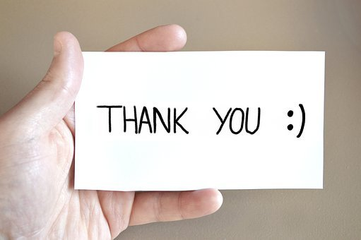 Thank You, Thank You Card, Hand, Feedback, Keep, Map