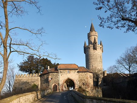 Friedberg, Hesse, Castle, Wall, Tower, Castle Wall