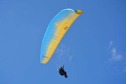Paragliding, Paraglider, Fifth Wheel, Wing Ozone Rush 5