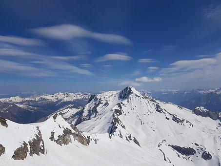 Snow, Mountains, Skiing, Landscape, Winter, Nature