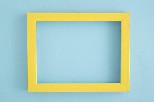 Yellow, Window, Windows, Photo Frames, Wall, Background