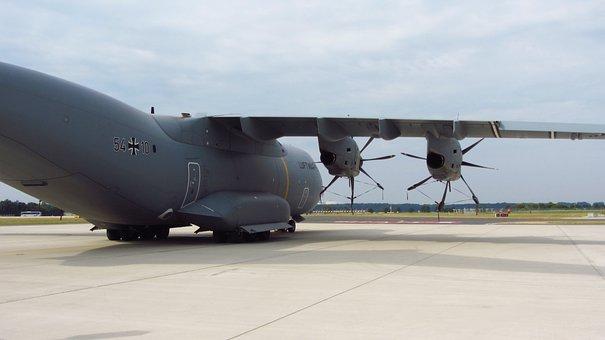 Military, A-400m, Bundeswehr, Air Force, Aircraft, Use