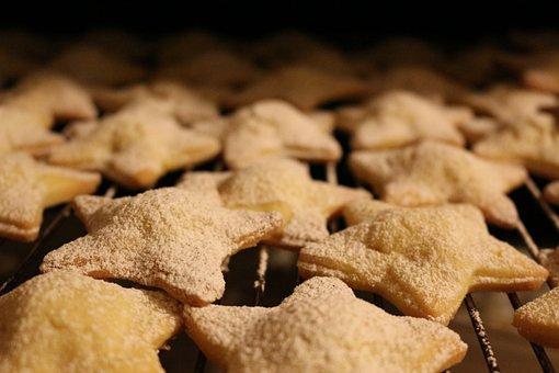Biscuits, Pastry, Stelline, Sweet, Bake, Cookies