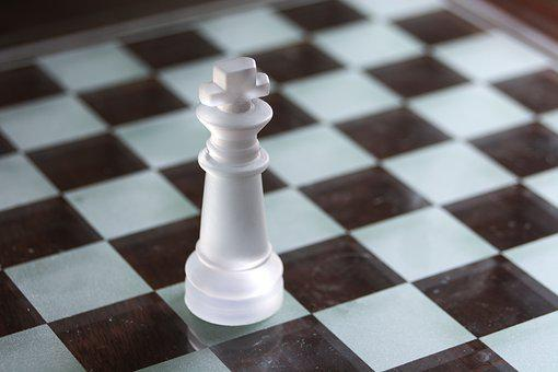 King, Chess, White, Chessboard, Game, One, Board, Black