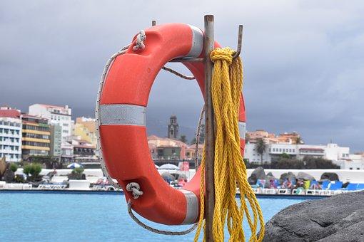 Buoy, Canary, Sea, View
