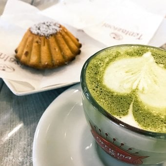Tea, Matcha, Green Tea, Breakfast, Cappuccino, Sweets