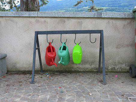 Watering Cans, Cemetery, Care