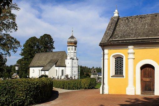 Monastery, Church, Cemetery, Architecture, Religion