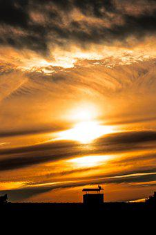 Sunset, Clouds, Sky, Cloud Formation, Regulation, Chaos