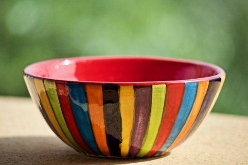 Bowl, Ceramics, Vase, Decoration, Colorful, Pottery
