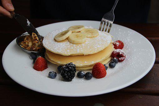 Eat, Pancake, Food, Dessert, Sugar, Delicious, Egg