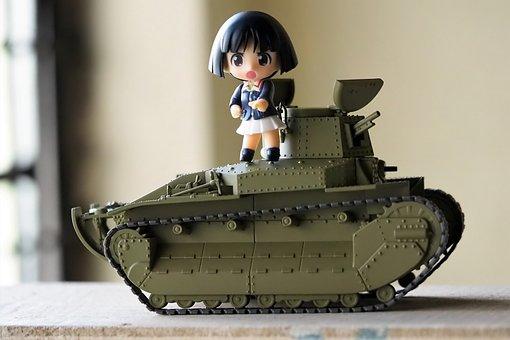 Type, 89 I, Go, Kou, Girls, And, Panzer, Japanese