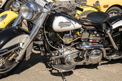 Harley Davidson, Motorcycle, Harley, Machine