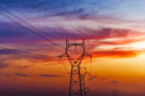 High-tension Towers, Electricity Towers, Electricity