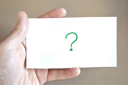 Question, Map, Hand, Information, Presentation