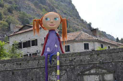 Kotor, Montenegro, Fortress, Baby Doll, Fortification
