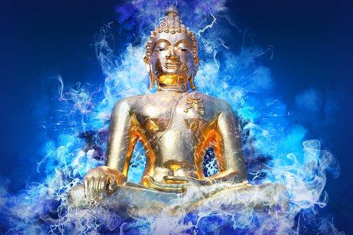 Buddha, Religion, Meditation, Zen, Buddhism, Statue