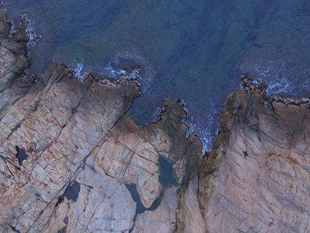 Abstract, Image, Rock, Wallpaper, Sea, Mediterranean