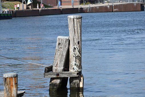 Meerpaal, Port, Water, Pole
