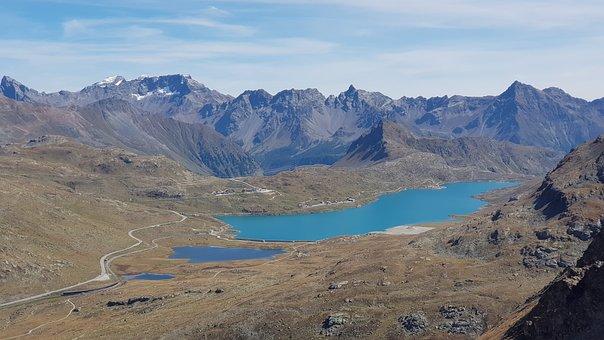 Diavolezza, Pontresina, Graubünden, Engadin, Mountains