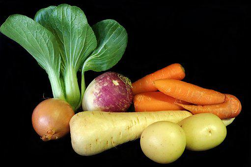 Vegetables, Parsnip, Potatoes, Carrots, Turnip, Onion