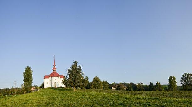 Church, Chapel, St, Otillien, Pilgrimage, Switzerland