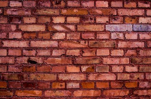 Hauswand, Wall, Facade, Bricks, Stones, Background