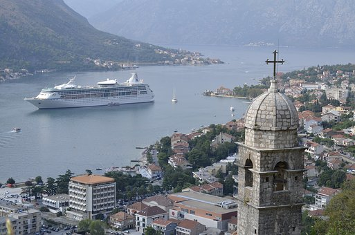 Kotor, Montenegro, Fortress, Fortification, Summer