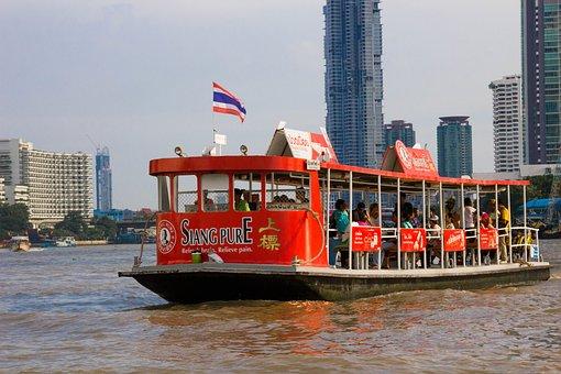 Boat, Tourism, Thailand, Asia, Southeast Asia