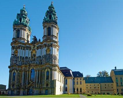 Poland, Silesia, The Monastery Of Krzeszów