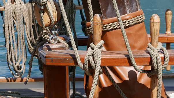 Boat, Navigation, Strings, Tops, Ship, Water, Vela