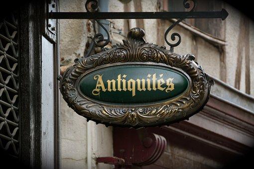 Antiques, Flea Market, Antique, Teaches, Old, Former